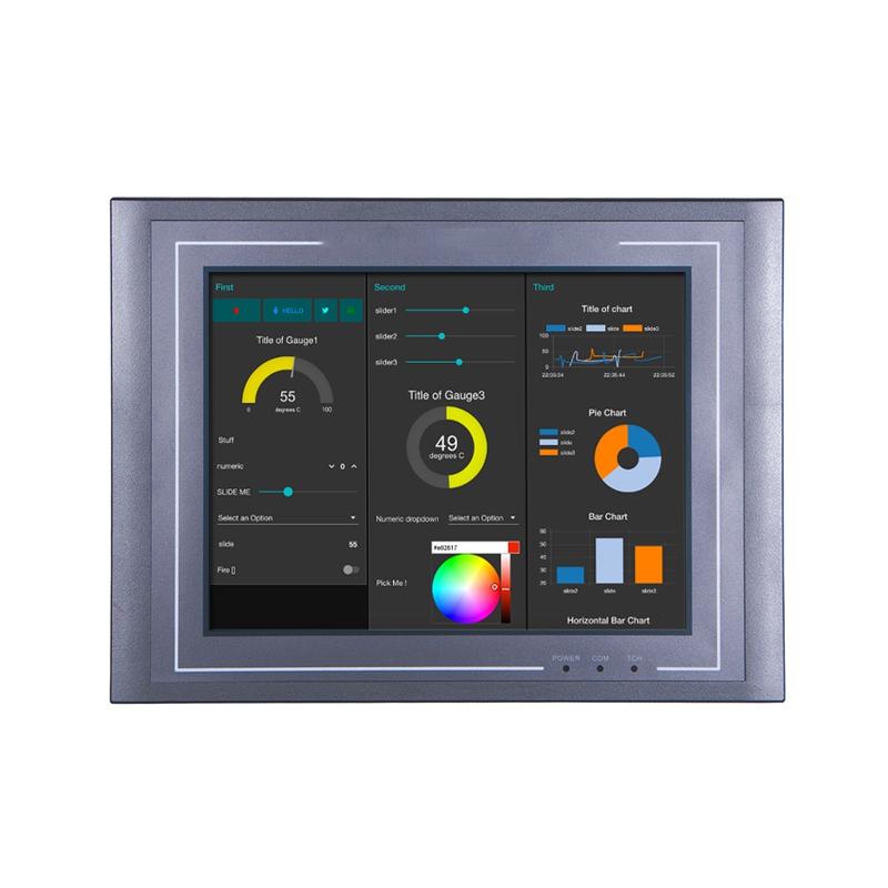 维控PI系列10.4寸高端人机界面PI8104